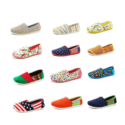 Casual Canvas Flats for Women Candy Colors