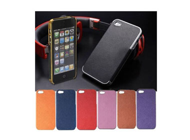 Hard Back Cover Case for iPhone 5/5S Black