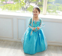 Frozen Princess Sofia Elsa Costume for Girls