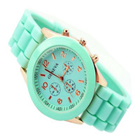 2014 Ladies Fashion Big Silicone Watch