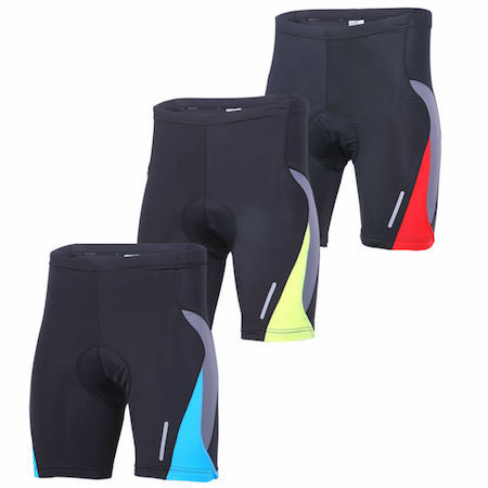 Freeshipping Men's padded quick dry bicycle short pants M-2XL