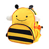 Double-shoulder baby school bag child cartoon bag kids cartoon backpacks