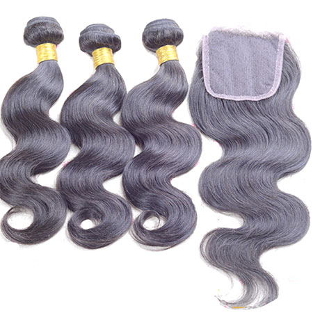 "14""Closure+16 18 20inch 7A Cheap Human Hair Lace Closure,Brazilian Hair Closure"
