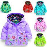 Girls' Hoodies Girls' Jackets Outerwear & Coats Kids' Coat Spring Autumn Baby Coat Girls' Girls' Coat