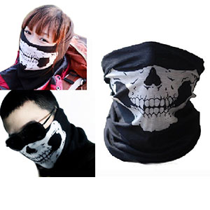 Cycling Skull Face Mask & Scarf