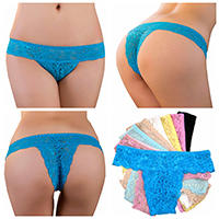 Sexy tanga bikini 2014 Guangzhou Bestway Underwear wholesale super popular sexy transparent lace thongs tanga bikini panties