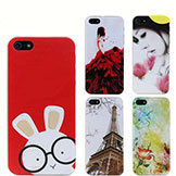 Painted Cartoon Simpson Pattern Plastic Mobile Cases Cover iPhone 5 5S Case