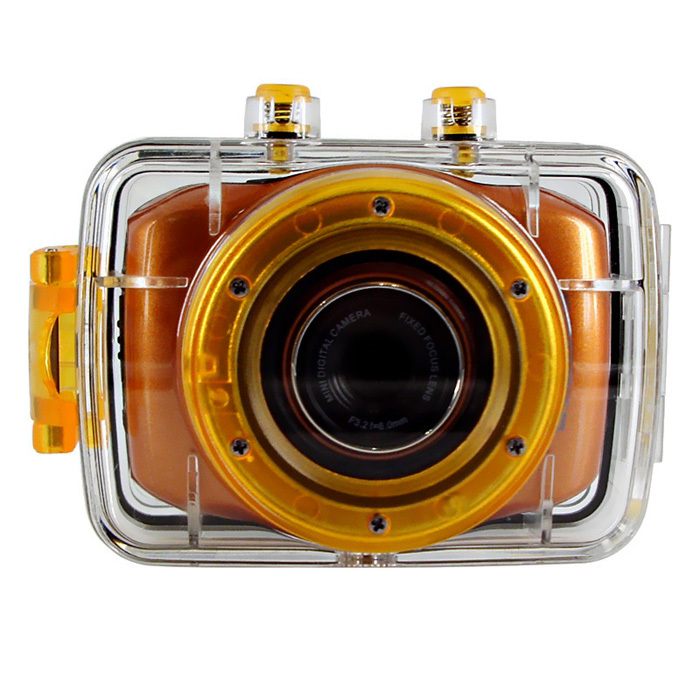 HD720p Water Proof Action Camera with 2.0'' Touch Display Sports Camera
