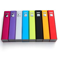 Aluminum Square Power Bank 2600 mah