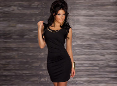 Women's Cocktail Dress Black