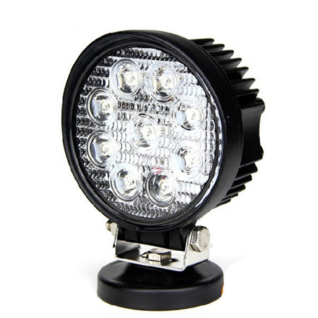 Best Price 10-30V 27W LED WORK LIGH IP67 LED Off Road light 4x4 Auto LED Work Lights with EMC