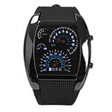 Digital LED Backlight Military Watch Watch Sports m Dial Watches Men's Black Bs88