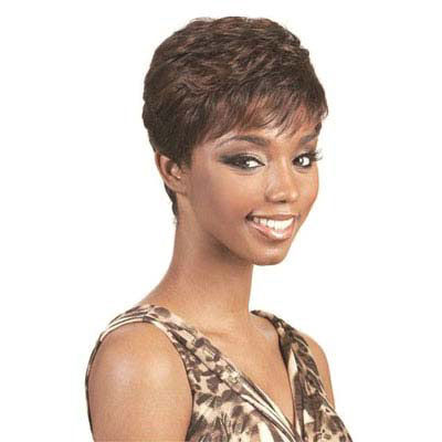 Women's Short Wig Dark Brown